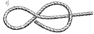 """Морской узел """"восьмерка"""""""