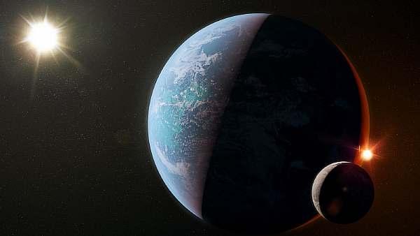 В космическом пространстве