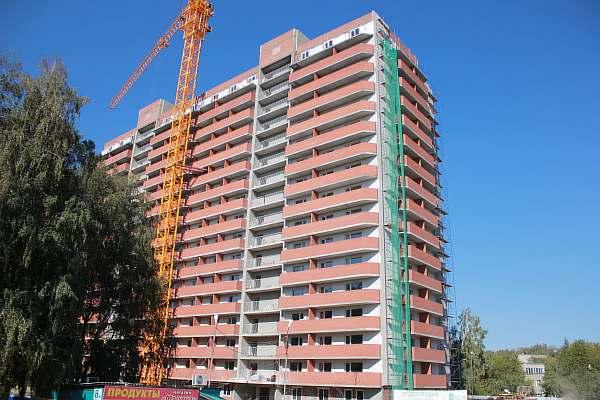 Высота 16-этажного дома