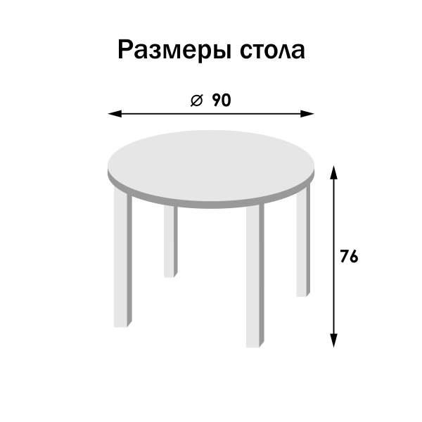 Схема столешницы