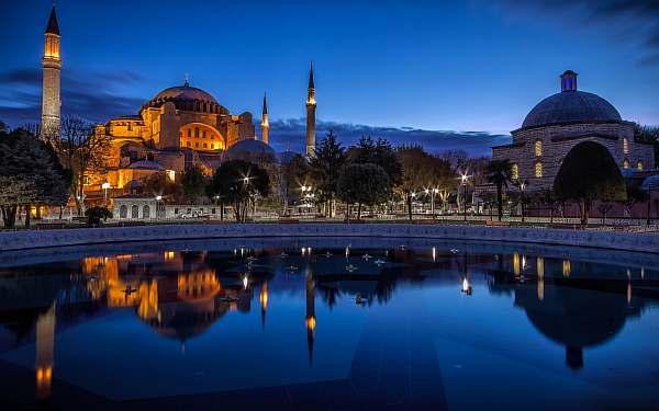Расстояние от Стамбула до Измира