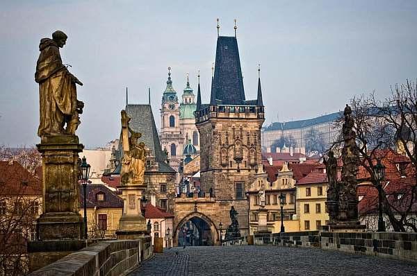 Расстояние от Праги до Вены