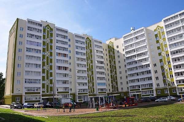 Высота 10-этажного дома