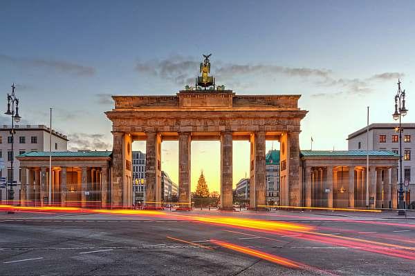 На улице Берлина