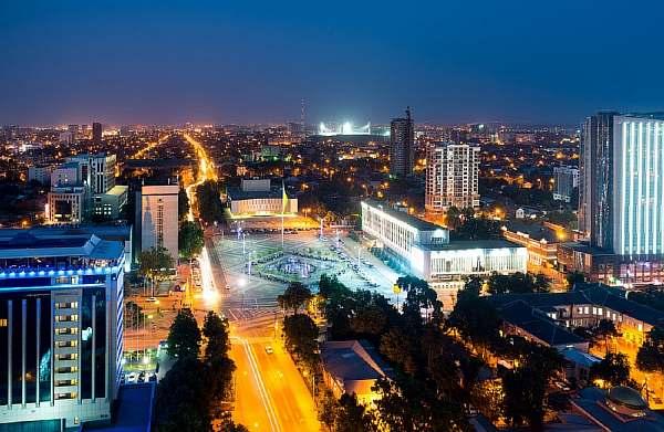 Вечерний Краснодар