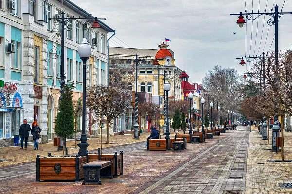 На улице Симферополя