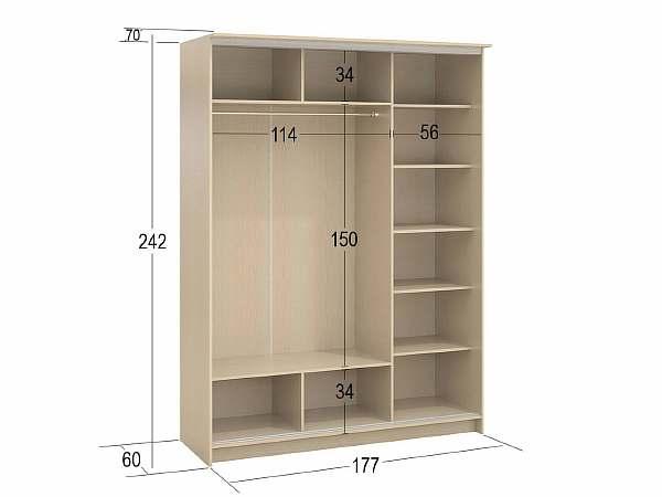 Размеры шкафчика