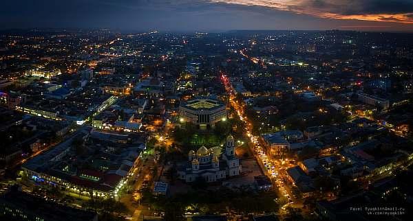 Ночью в городе