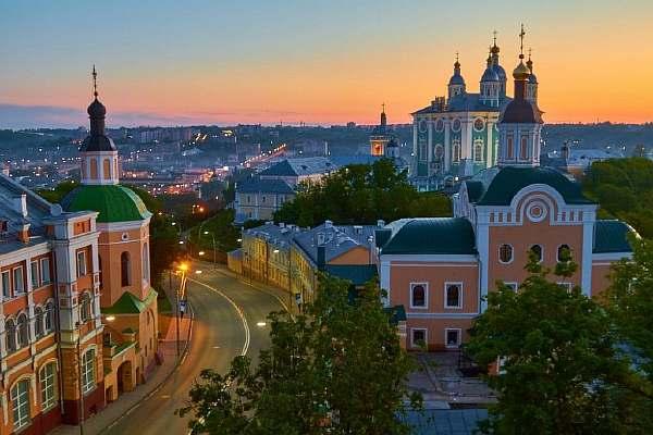 Расстояние от Москвы до Смоленска
