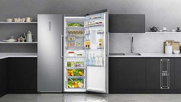 Высота холодильника