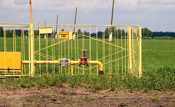 Подземный газопровод