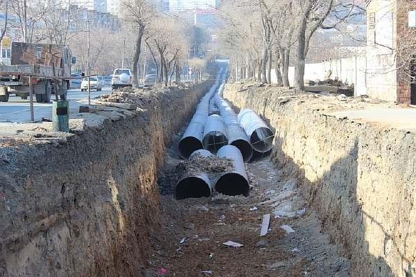 Охранная зона канализации