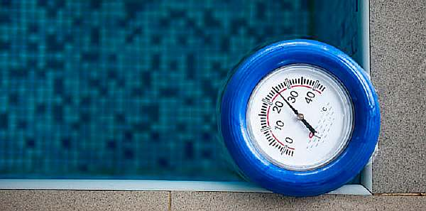 Норма температуры воды в бассейне