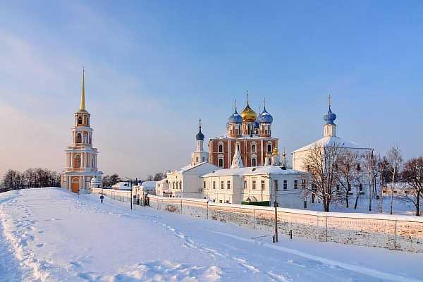 Зимой в городе