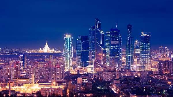 Освещение города