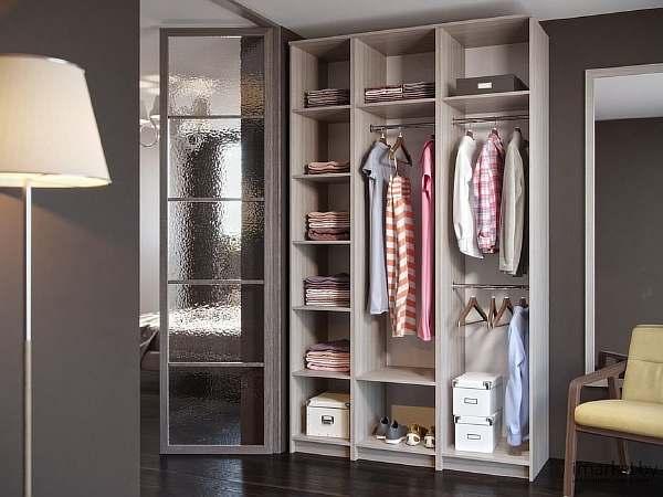 Расстояние между полками в шкафу для одежды