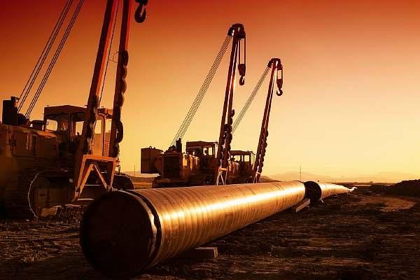 Строительство трубопровода