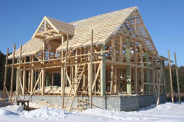 Строительство на даче
