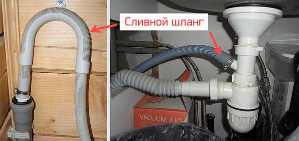 Организация слива в квартире