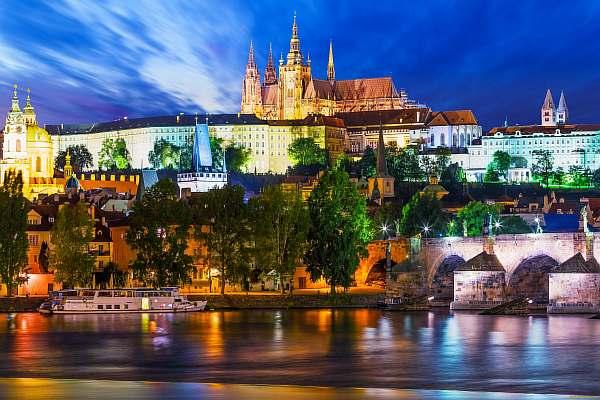 Вечером в Чехии