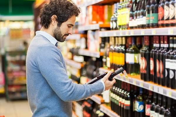 Выбор алкогольной продукции