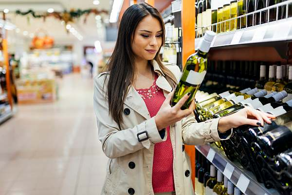 Покупка вина