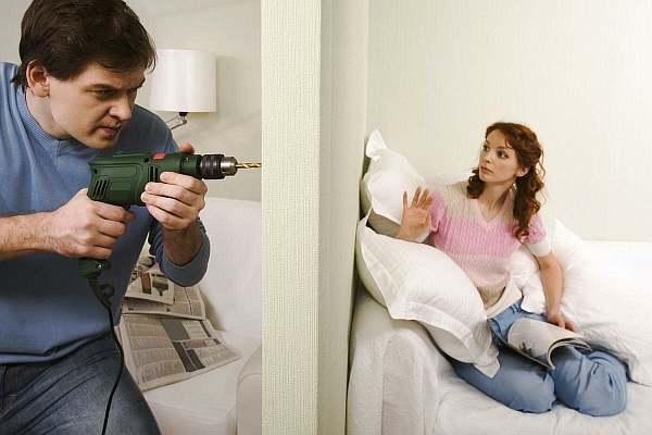 Сверление в квартире